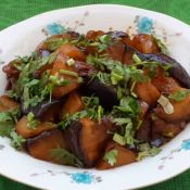 土豆炖茄子的做法