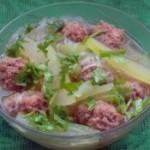 羊肉冬瓜丸子汤的做法