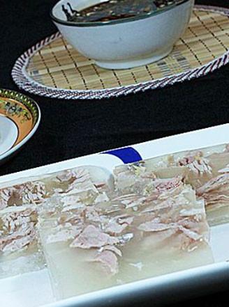 水晶肉皮冻的做法