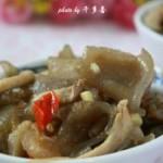 鲜薯粉皮炒秀珍菇
