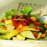 酸辣黄瓜皮凉菜的做法