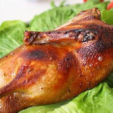 滋味烤鸭的做法