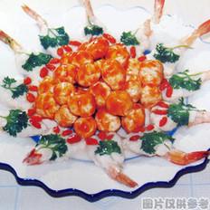 鱼虾争艳的做法