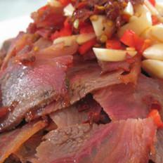 菜远卤牛肉的做法