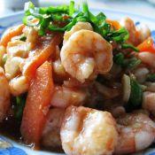 清炒虾仁毛豆的做法