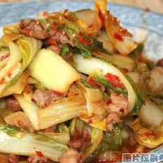 瓜烧白菜的做法