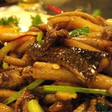 炒鳊鱼冬笋的做法
