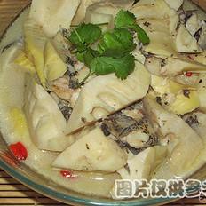 春笋炒步鱼