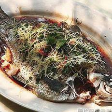 松只鱼的做法