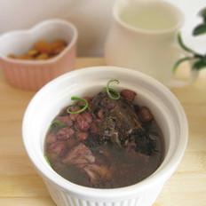 鲫鱼红豆汤的做法