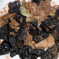 木耳炒牛肉的做法