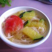 姜汁挂面汤