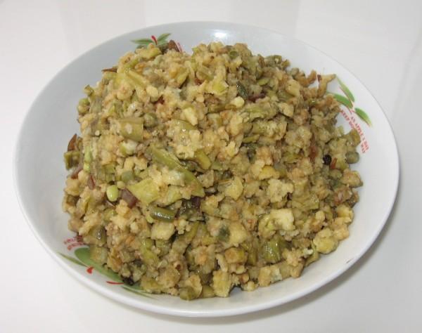 老豆角蒸菜的做法
