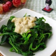 腐乳苋菜的做法