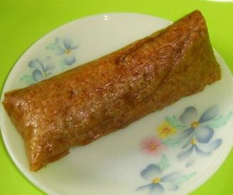 板栗纯精肉粽的做法