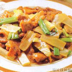 子姜炒鸭片的做法