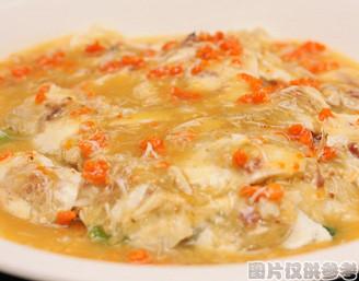 蟹黄大白菜的做法