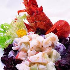 生菜龙虾的做法