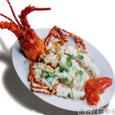 生炊龙虾的做法