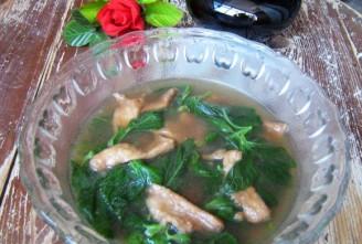 野苋菜滑肉汤的做法