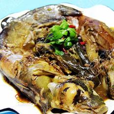 鲶鱼炖茄子的做法