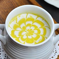 西式南瓜浓汤的做法