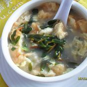油条野菜蛋花汤的做法