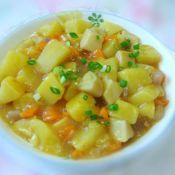 咖喱杏菇烧土豆的做法