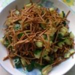黄瓜拌豆腐丝的做法