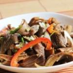 鸡枞菌炒肉