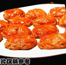 杏仁鸡饼的做法