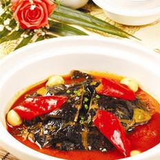 红煨水鱼裙边的做法
