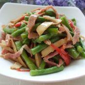 双熏炒豇豆