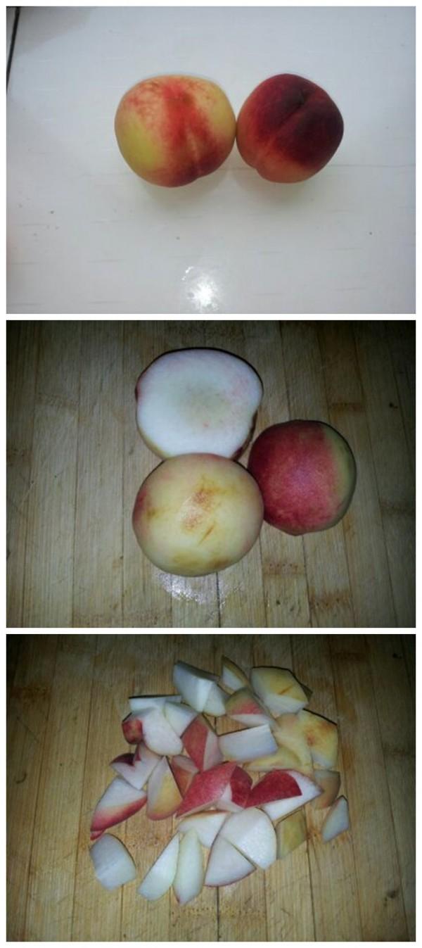 水果素描图片步骤桃子
