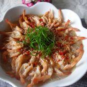 蒜蓉粉丝蒸明虾的做法