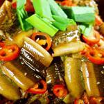 腊肉炖鳝片的做法