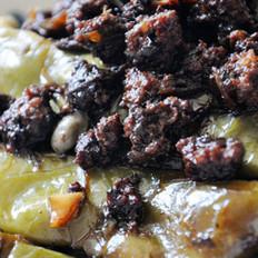 橄榄菜肉沫烧豆角