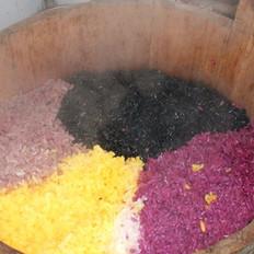 壮家五色糯米饭的做法