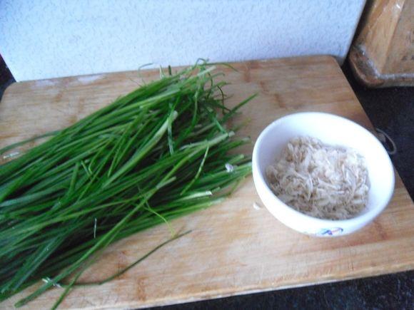 鲜味韭菜的做法