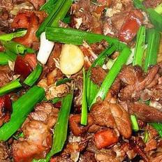 干锅狗肉的做法
