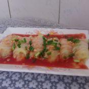 微波土豆菜卷的做法