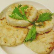 香菇芹菜饼