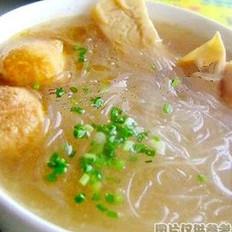 素氽汤的做法