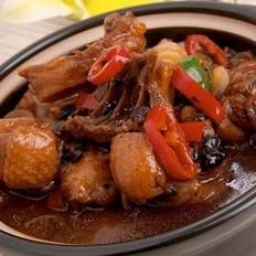 莲蓬沙锅鸡的做法