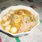 辣白菜汤面的做法