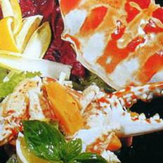 木瓜蟹肉的做法