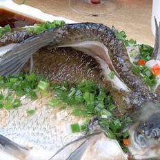 清蒸牡丹鱼的做法