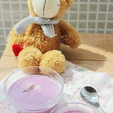 奶香紫薯银耳露的做法