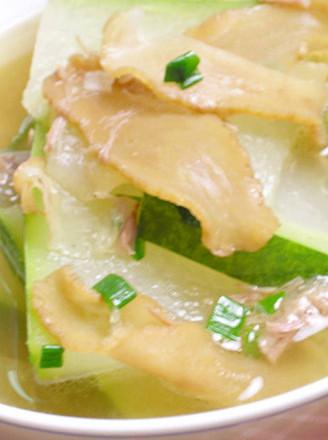 冬瓜菜脯汤的做法