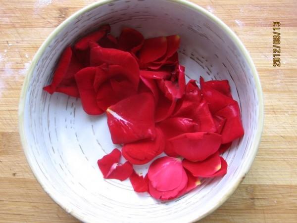 玫瑰糯米球的做法